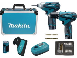 Makita set LCT 303X6 (TD090, DF330, ML100, BL1013x2, DC10WA)